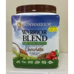 Sunwarrior-Warrior Blend Chocolate (13.2 oz) 375 g