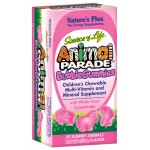 Animal Parade Chewable Gummies 50 bubble gum flavor