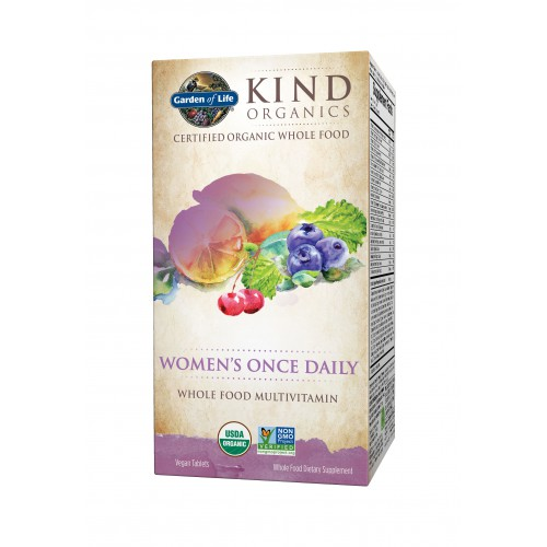 Garden Of Life Kind Organics Women 39 S Once Daily 30 Tablets