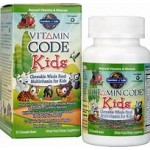 Vitamin Code Kids-Multivitamin 60 chewables