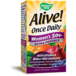 Alive Once Daily Women's 50 + Ultra  Potency 60 tabs