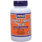 Alpha Lipoic Acid 250 mg 120 V caps