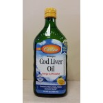 Cod Liver Oil 16.9 fl oz (500 ml) Natural Lemon Flavor