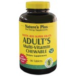 Adult Multi-Vitamin chewable 90 tablets (Red Super Fruit)