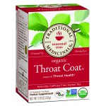 Throat Coat Organic Tea 16 Wrapped Bags