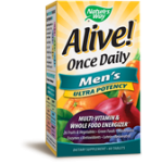 Alive  Once daily Men's Ultra Potency 60 tabs