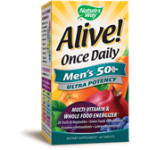 Alive Once Daily Men's 50+ Ultra Potency 60 tabs