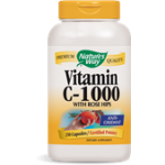 Vitamin C-1000 with Rose Hips 250 Capsules